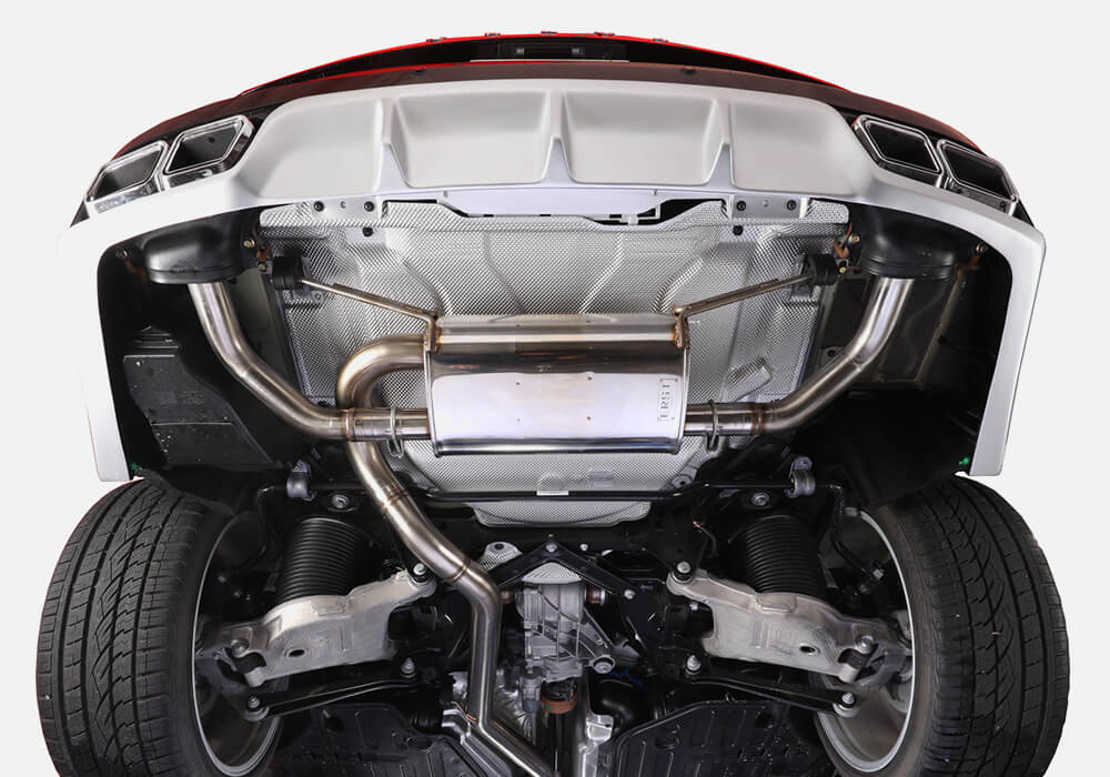 EXHAUST SYSTEM XC90 16y- 2.0